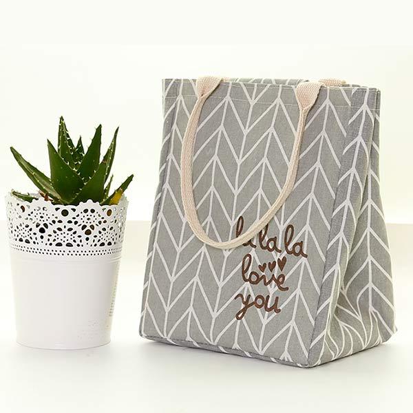 キャンバスバッグ 保温バッグ 大容量トート 女性 お弁当 シンプルバッグ ランチバッグ