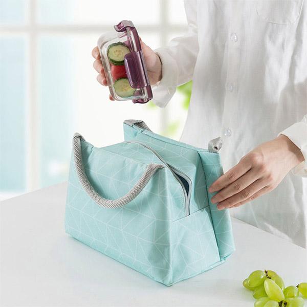 ランチトート 弁当袋 保冷 保温バッグ  ランチバック 可愛いシンプル デザイン