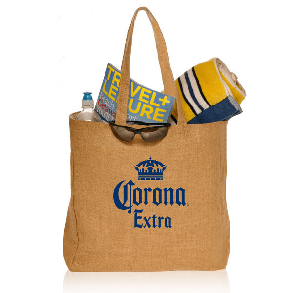 麻製バッグ 手提げバッグ ジュート麻混 お買い物かばん エコバッグ 大型収納トートバッグ