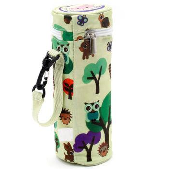 水筒カバー保温 ショルダーベルト付き「トモウ」オリジナル製作 かわいい 子供用 携帯便利 ファスナー付 高品質 多機能 通学