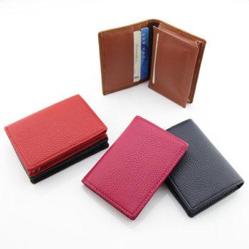 名刺入れケース メンズ 合皮レザー カードケース 通勤 通学 男女兼用 40枚収納可能 大容量