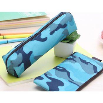 人気帆布ペンケースOEM 筆箱 円柱型 ボートペンケース「トモウ」製作 学生 子供 高校生ペンポーチ