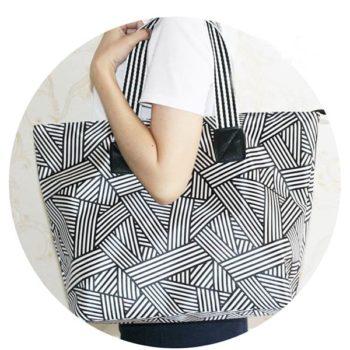 ショッピングバッグ ショルダーバッグ「トモウ」オリジナル製作 折り畳みトートバッグ 男女兼用 エコバッグ 大容量 折り畳み可