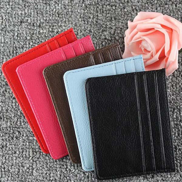 薄型カードケース ピンク「トモウハンドバッグ」製作 オシャレ カード入れ 大容量 男女兼用
