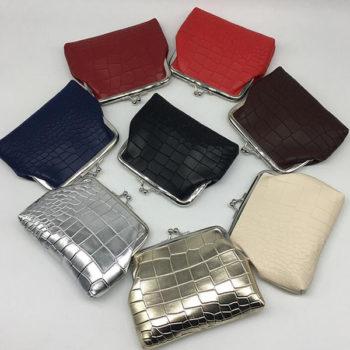 レディース 財布 小銭入れ がま口 女性用 通勤  ウォレット可愛い コンパクト スナップ式 コインケース ギフトPU 合皮 多機能 大容量