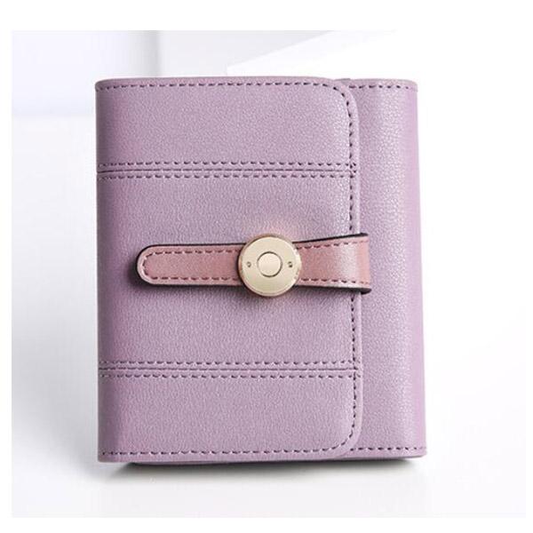 レディース財布 高級 二つ折り 小銭入れ コインケース お札 カードを仕分けて収納 レザー ブラック