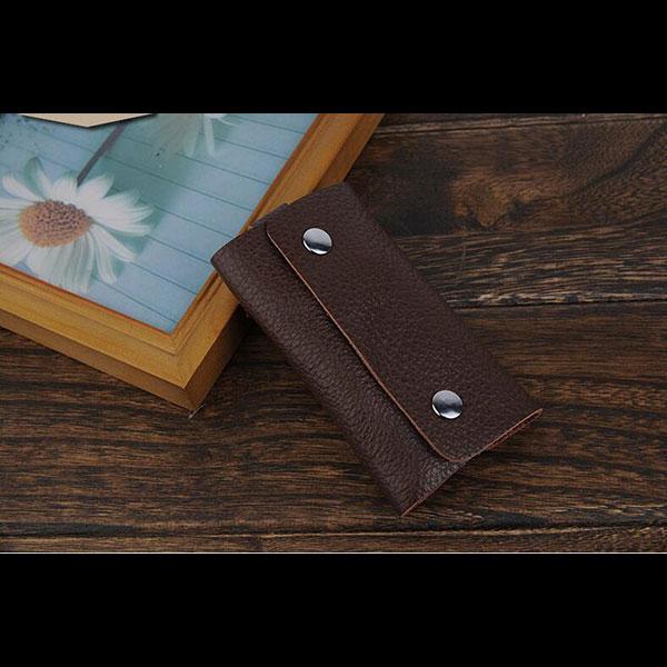 キーホルダー キーケース オリジナル 六つ 本革 合皮選択可能 鍵 収納