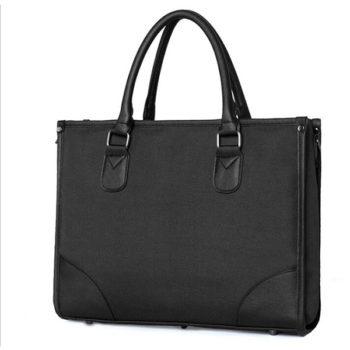 メンズ ビジネスバッグ 肩掛け トートバック A4 サイズ  ショルダー付け ブリーフ ケース 書類 通勤 通学 学生 鞄