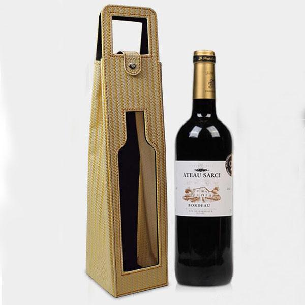 1本収納 ワインバッグ 赤/ブラック/オレンジ ワインケース 収納袋  ボトルトートバッグ プレゼント 贈り物
