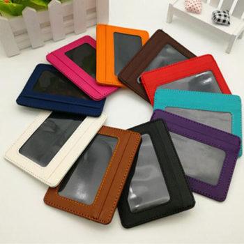カードケース 大容量 薄型 カード入れ 定期入れ メンズ カジュアル 免許証入れ レザー ミニ財布 軽量ケース