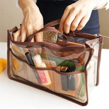 透明インーナバッグ ビーニルバッグ 小物整理 収納バッグ 洗面用具入れ トラベルポーチ 化粧品収納 人気 旅行 レディース メンズ 小ロット小売製作
