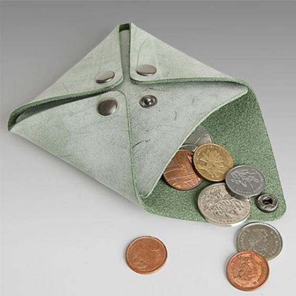4ホックコインケース  小銭入れ 牛革 メンズ レディース 小物収納可能 小ロットオリジナル製作