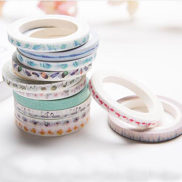 オリジナルマスキングテープ 和紙テープ 可愛いDIY 工芸品 ギフト 装飾用 パーティー 剥がしやすい OEM小ロット生産対応