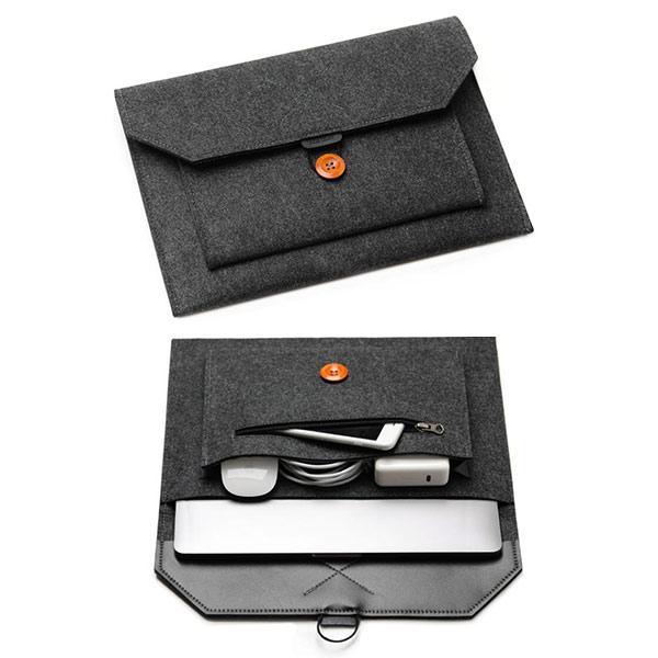 オリジナル収納バッグ PCケース フェルト インナバッグ ファイルケース 書類 資料  収納ケース  カバン 男女兼用 OEM小ロット製作対応