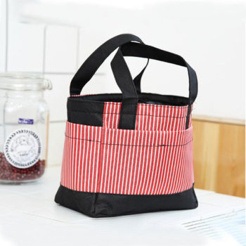 2WAY 保温手提げバッグ ランチバッグ 弁当袋 レジカゴ用バッグ 巾着式 ぴったり 大容量サイズ オリジナル卸売り製作対応