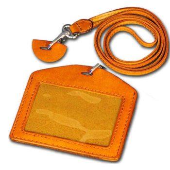 オリジナルカードホルダー 本革 IDケース カードケース 高級レザーパスケース 社員証 名刺定期入れ 小ロット仕入れ製作対応
