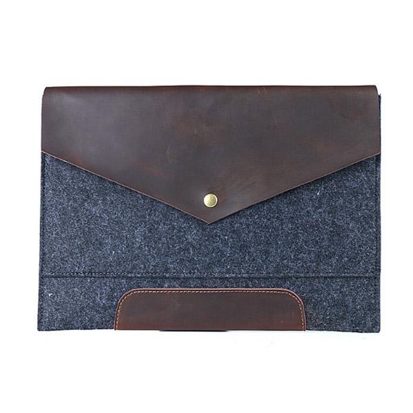 シンプルハンドバッグ 上質フェルト 保護ケース フェルト収納ケース エルフェルトバッグ