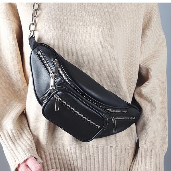 多機能 男女兼用 オリジナルバッグ 製造 柔らかい お洒落 ウエストポーチ