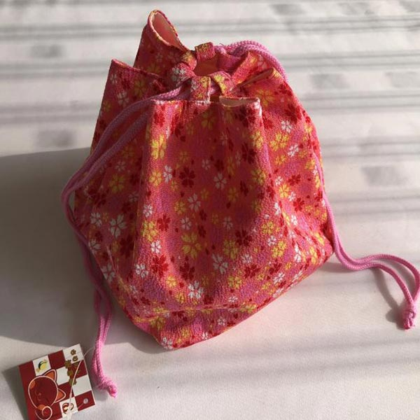 オリジナル製造 巾着袋 ファション 麻素材 小ロット製作対応 最適 格安い製作