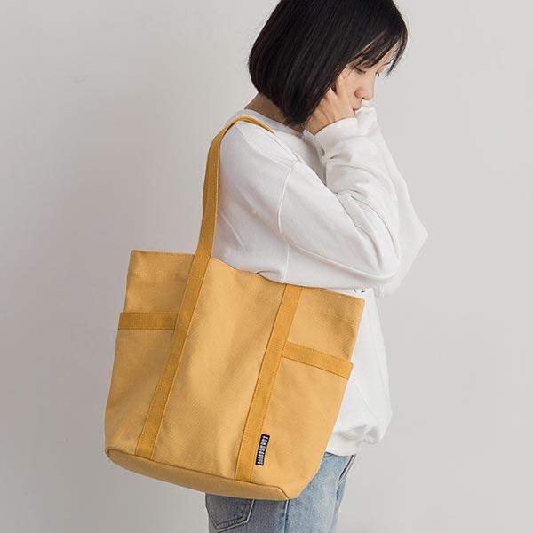 新製 キャンバストートカバン ショルダーバッグ 布製 無地バッグ カジュアルバッグ
