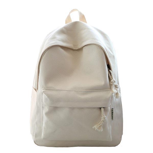 白いバッグ 中学生 旅行ショルダーバッグ キャンバス スクールバッグ 収納ポケット