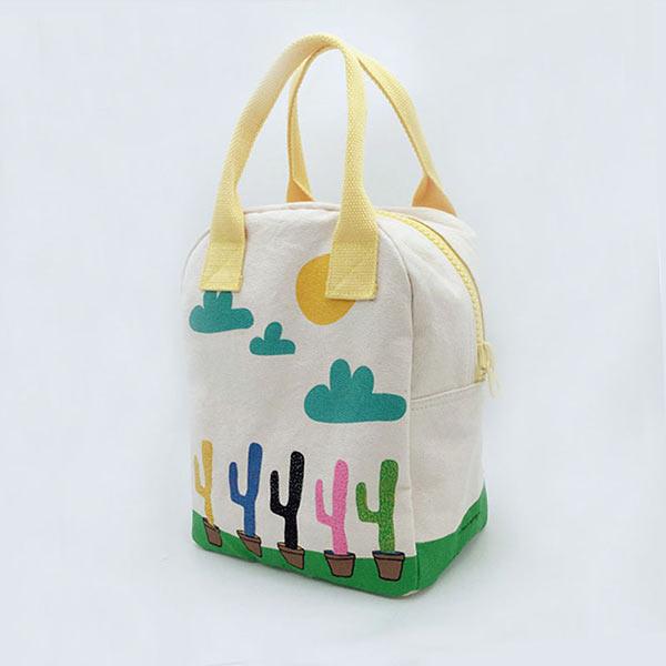 色が美しいランチバッグ鞄カバン袋オリジナル製造