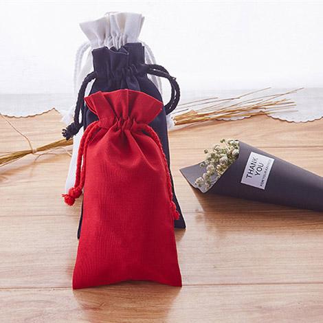 巾着袋 収納バッグ 全面保護 小物入れモバイルバッテリー用収納ポーチ