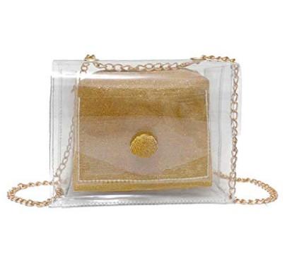 シンプルなデザイン大人気のビニールバッグ透明オリジナル大容量