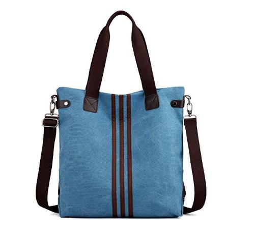 高品質の多機能オリジナルキャンバスレディースバッグ大容量