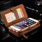 携帯カバー多彩な財布