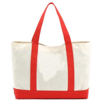 帆布ハンドバッグ「トモウ」オリジナル製作トートバッグ ファスナー付き キャンバスバッグ ステッチングバッグ 女性 通勤 通学 ママバッグ 安い 小ロット 仕入れ