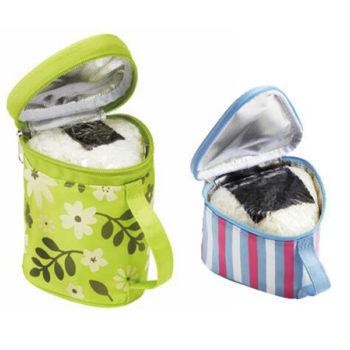 おにぎりケース 保冷 「トモウ」オリジナル製作 おにぎりポーチ 保温 ランチバッグ かわいい 携帯便利 保冷バッグ