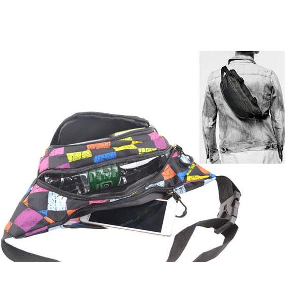 旅行用 ウエストポーチ メンズ ランニングポーチ レディース 貴重品入れ ウエストバッグ ペットボトル 収納 通気性 軽量