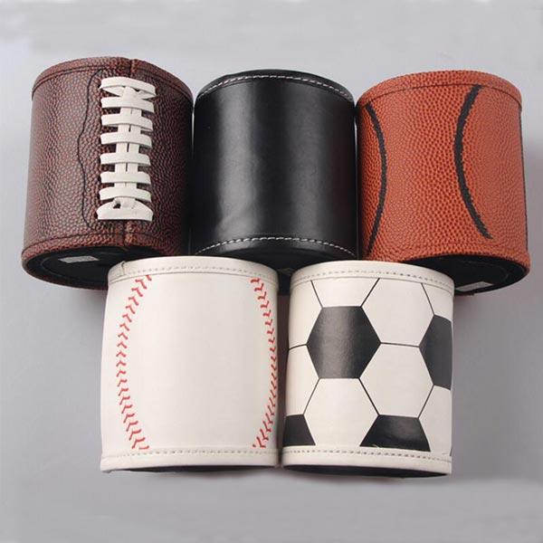 レザー 保冷缶ホルダー 缶カバー トモウオリジナル製作 ビール/ソーダ/飲料 冷却器ホルダー