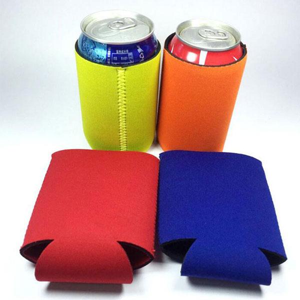 おしゃれ 飲料缶カバー 350ml イェロー ボトルカバー ビール/ソーダ/飲料 トモウオリジナル製作 クーラーカバー