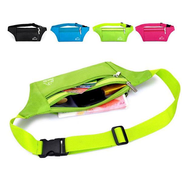 通気性 ウエストバッグ 蛍光  ウエストポーチ ランニング サイクリング用 ランニングポーチ ランニングバッグ スポーツ用 サイクリング 軽量