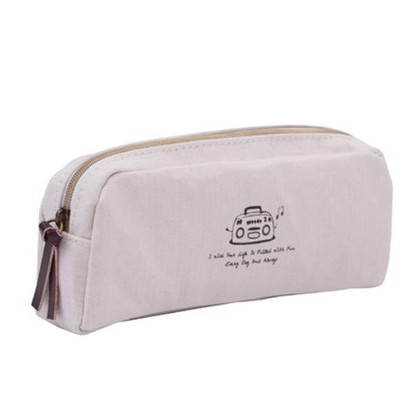 ボックスペンケース 筆箱 帆布ペンケース メンズ レディース トモウオリジナル製作 人気 大容量収納