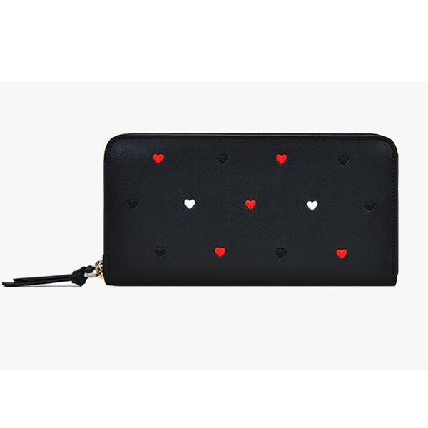 ブラック 長財布 おしゃれ 可愛い 高級本革 スマホが入る 大容量財布 小銭入れ一体型 レディース 財布