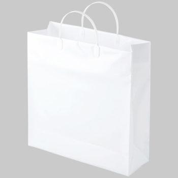 紙袋 手提げ袋 ビニールバッグ 白 M サイズ 500枚 袋小ロット生産可能 指定可能