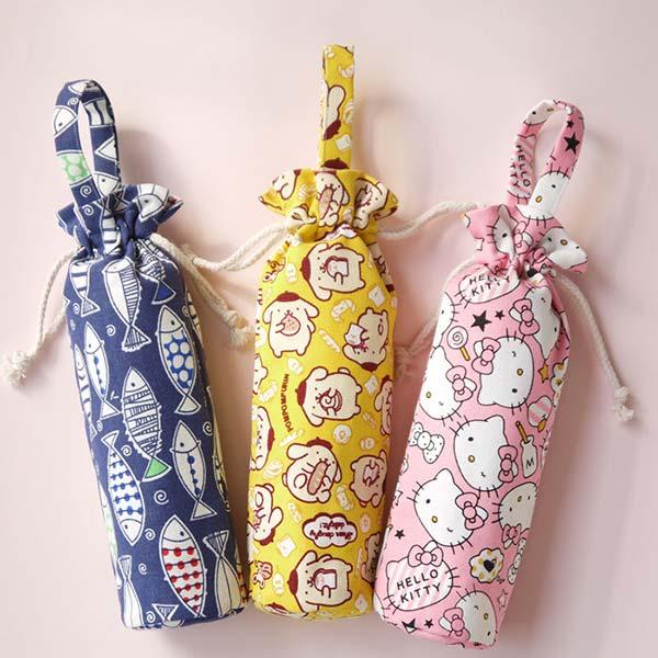 保温カバー 手作り 巾着袋 動物 キャラクター ポータブル ケース 小ロット