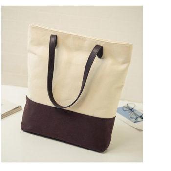 キャンバスファッション トートバッグ トモウオリジナル製作 三つカラー選択可能 便利バッグ