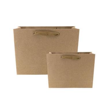 クラフト紙袋 ジショップ パッケー ギフトバッグ 低価格タイプ 小売