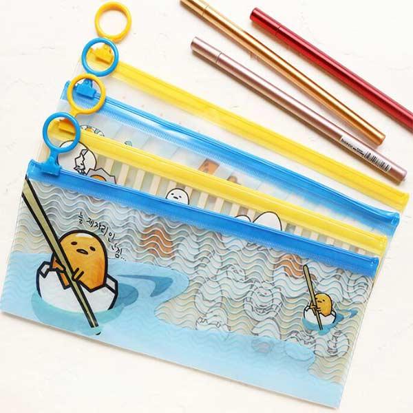 OEM可愛いペンバッグ 文房具 筆箱 カラフル ポーチ 透明ペンポーチ PVCペンケース ノベルティオ  リジナル製作可能