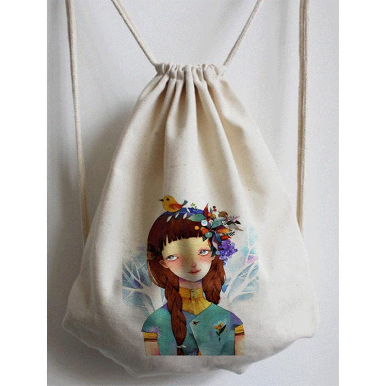 キャンバス 給食袋 手提げかばん アイデア商品 アイデア雑貨