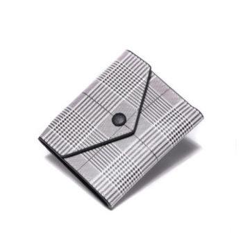 全開ボタンタイプ ハンドメイド コインケース 大人気多機能財布 名刺いれ