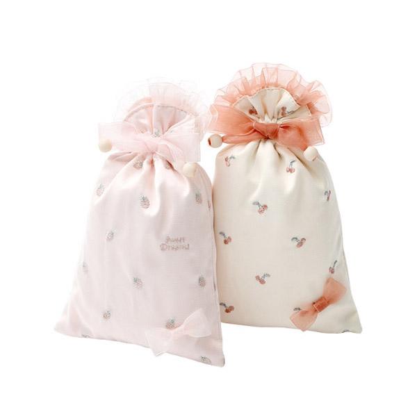 新作 ミニ収納袋 ミニバッグ 可愛い蝶結び 巾着袋 散らかった物収納袋
