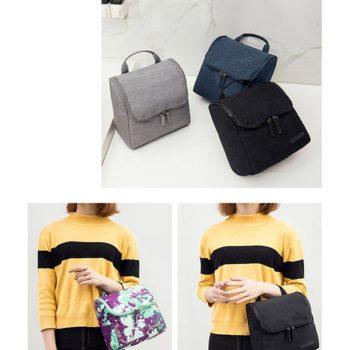 旅行 出張 OEM製造 多用性 大容量 男女兼用 化粧品 ポーチ 袋 バッグ日用品 高い収納性