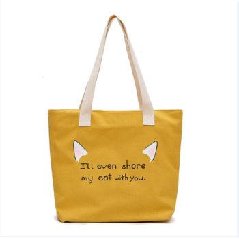 ハンドバッグ エコトート袋 マザーズカバン お出かけ鞄 旅行バッグ