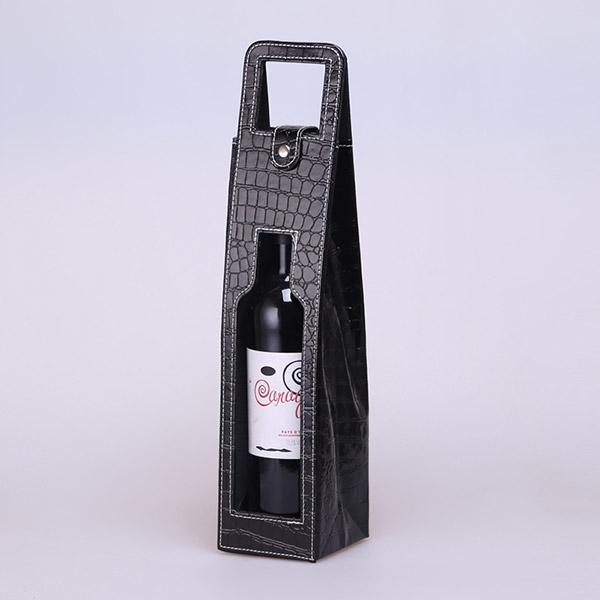 ワインボトルバッグ ワイングッズ  puバッグ プレゼント 手提げバッグ