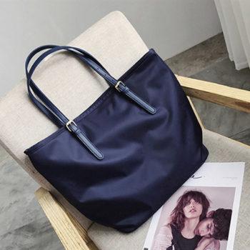 新しいナイロンバッグ シンプルナイロン袋 キャンバストート シンプル手提げバッグ ママバッグ